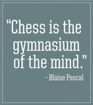 Chess Club T-shirt Pascal Quote