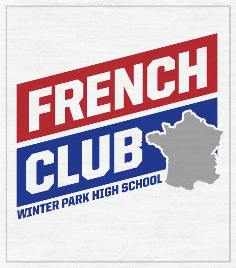 French Club Shirt Banner Shirt