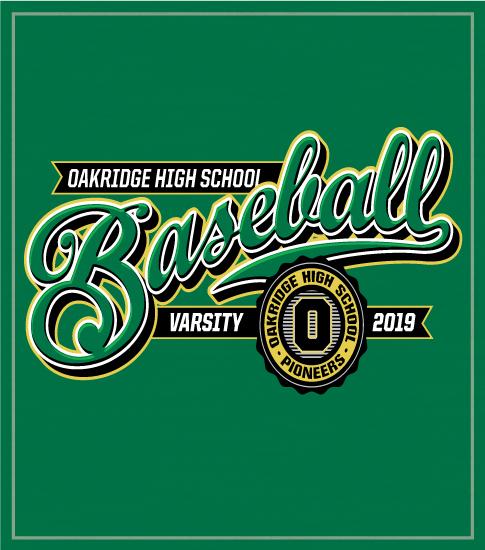 Baseball T-shirt Script