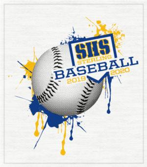 Baseball T-Shirt Splatter