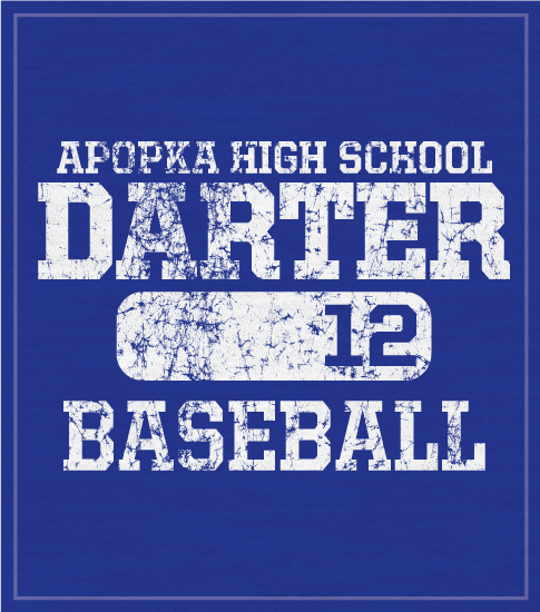 Baseball T-shirt Distressed 2