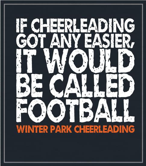 Cheer is Hard Cheer T-shirt
