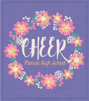 Flowers Cheer T-shirt