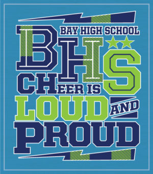 Loud and Proud Cheer T-shirt