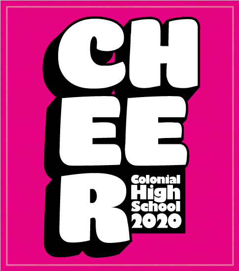 Pink Cheer T-shirt