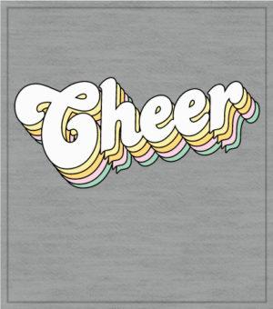 Retro Cheer T-shirt 2