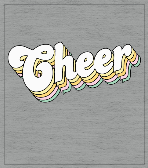 Retro Cheer T-shirt 2