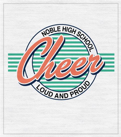Retro Cheer T-shirt 3