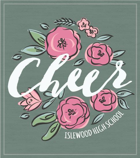 Roses Cheer T-shirt