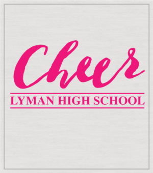 Cheer T-shirt Script