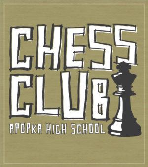 Hand Drawn Chess Club T-shirt