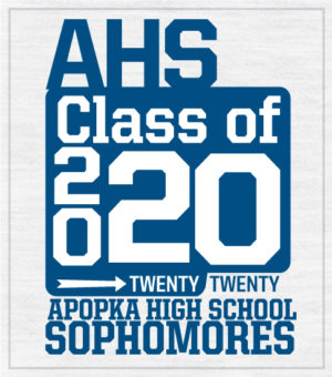 Class of 2020 Sophomores T-shirt