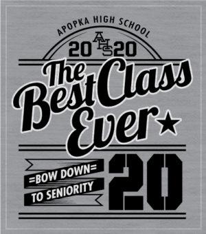 Class of 2020 T-shirt Best Ever