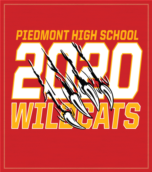 Class of 2020 Claw t-shirt