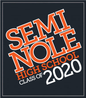 Class of 2020 T-shirt Slanted