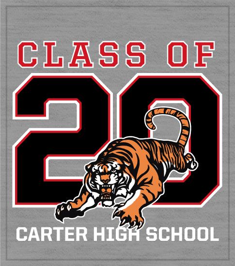 Class of 20 T-shirt Tiger