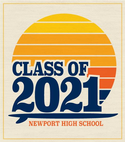 Retro Surf T-shirt Class 2021