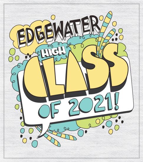 Class of 2021 T-shirt Doodle