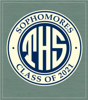 Class of 2021 T-shirt Monogram