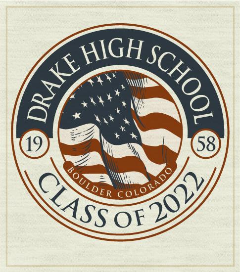 Class of 2022 T-shirt Flag