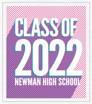 Class of 2022 T-Shirt 3D Letters