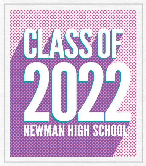Class of 2022 T-Shirt 3D Letters