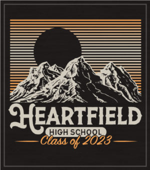 Class of 2023 Mountain T-shirts