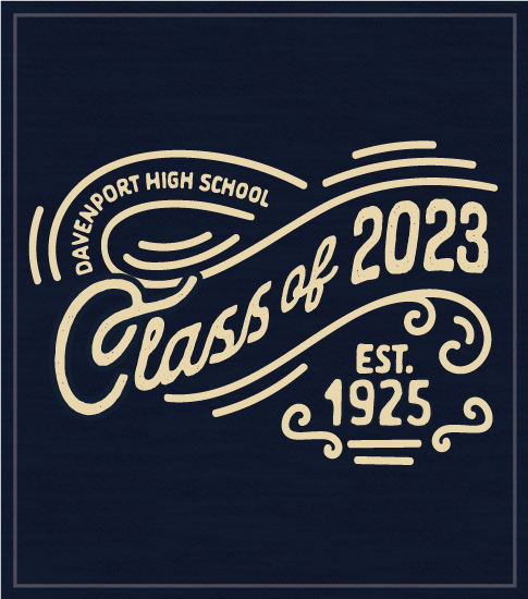 Old Fashion Class of 2023 T-Shirt