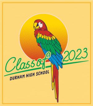 Class of 2023 T-shirt Parrot