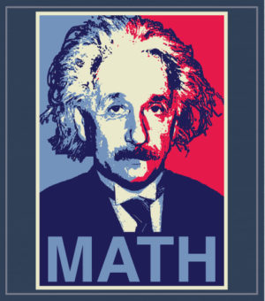 Einstein Math Club T-shirt
