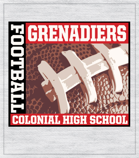 Football T-shirt Colonial High