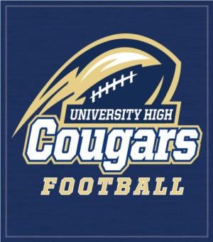 Football T-shirt Cougars