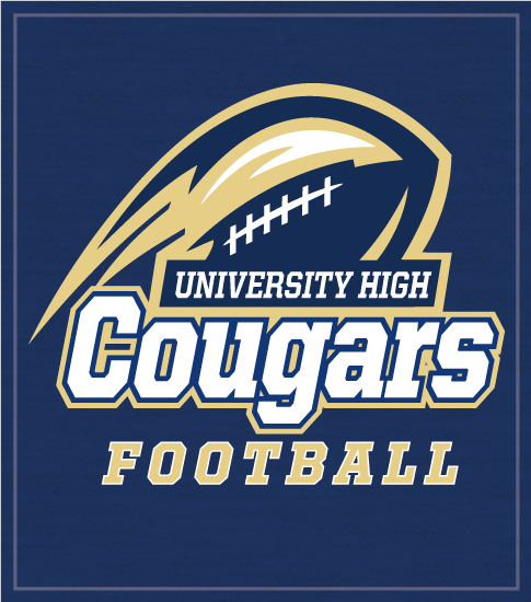 Football T-shirt Cougars
