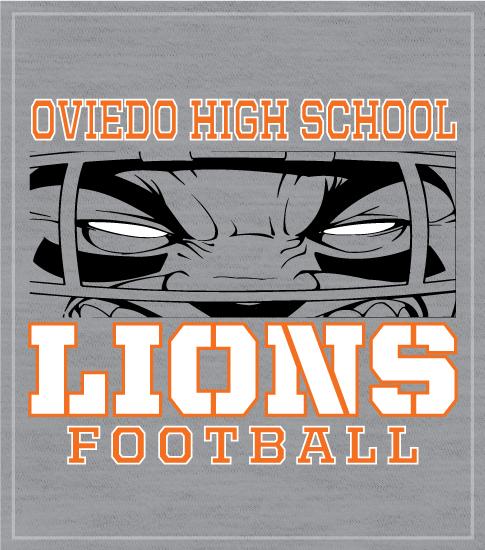 Football Team T-shirt Face