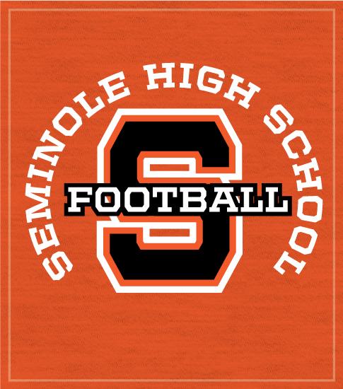 Football Team Shirt Big Letter