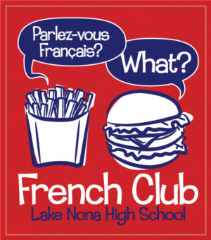 French Club T-shirt-Hamburger