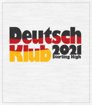 German Club T-shirt Flag