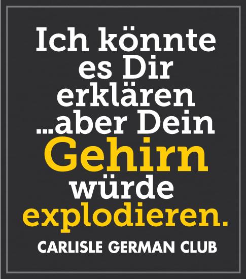German Club T-shirt Black