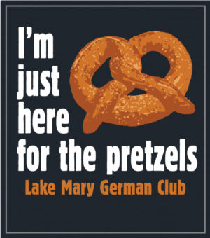 German Club Shirt Pretzel