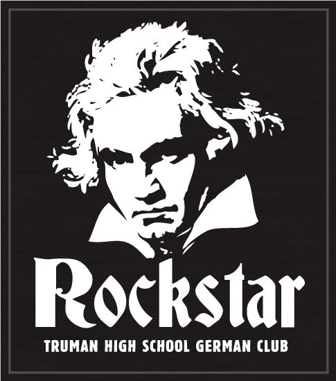 German Club T-shirt Rockstar