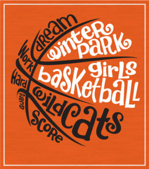 Girls' Basketball T-shirt