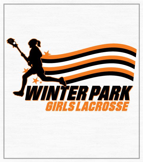Girl's Lacrosse Team T-shirt Stripes