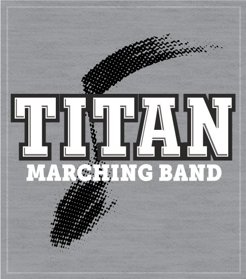 High School Band T-shirt Marching