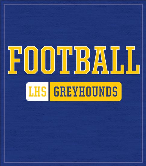 High School Football Team T-shirt