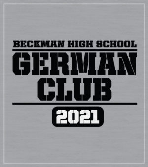 High School German Club T-shirt