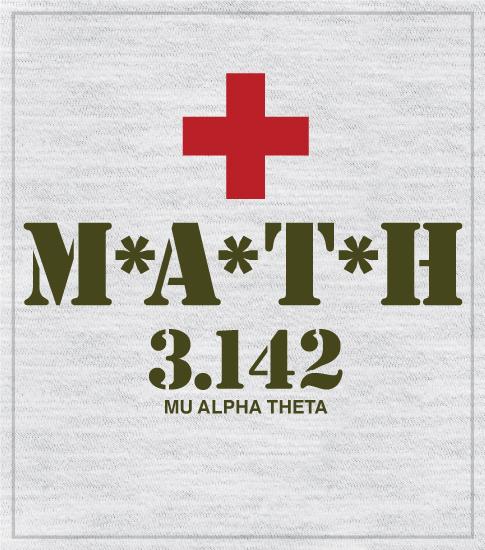 High School Math T-shirt