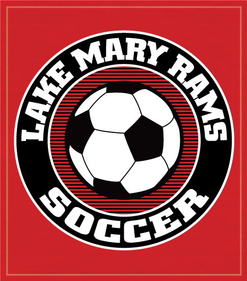High School Soccer T-shirt with Circle