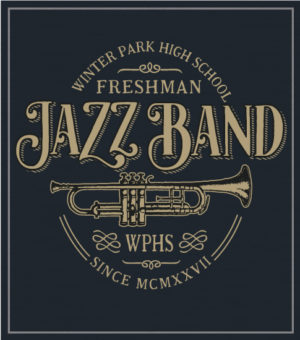 Jazz Band T-shirt with Trumpet
