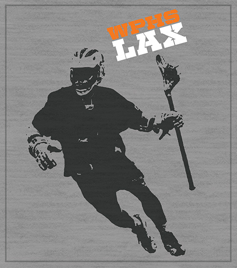 Lacrosse Player Team T-shirt