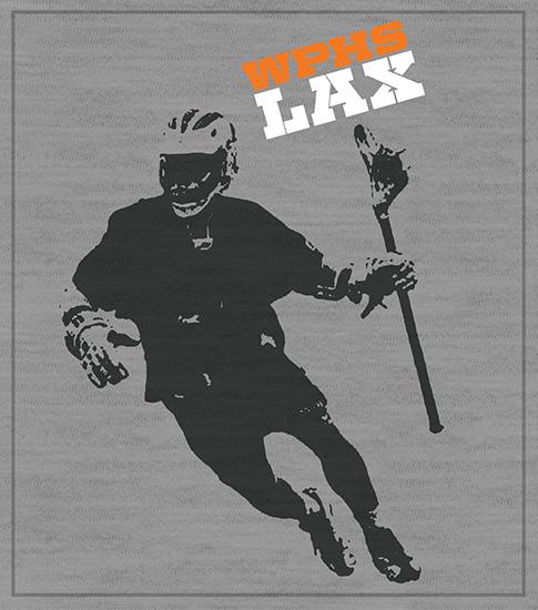 Lacrosse Player Team T-shirt